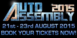 Book now for Auto Assembly 2015