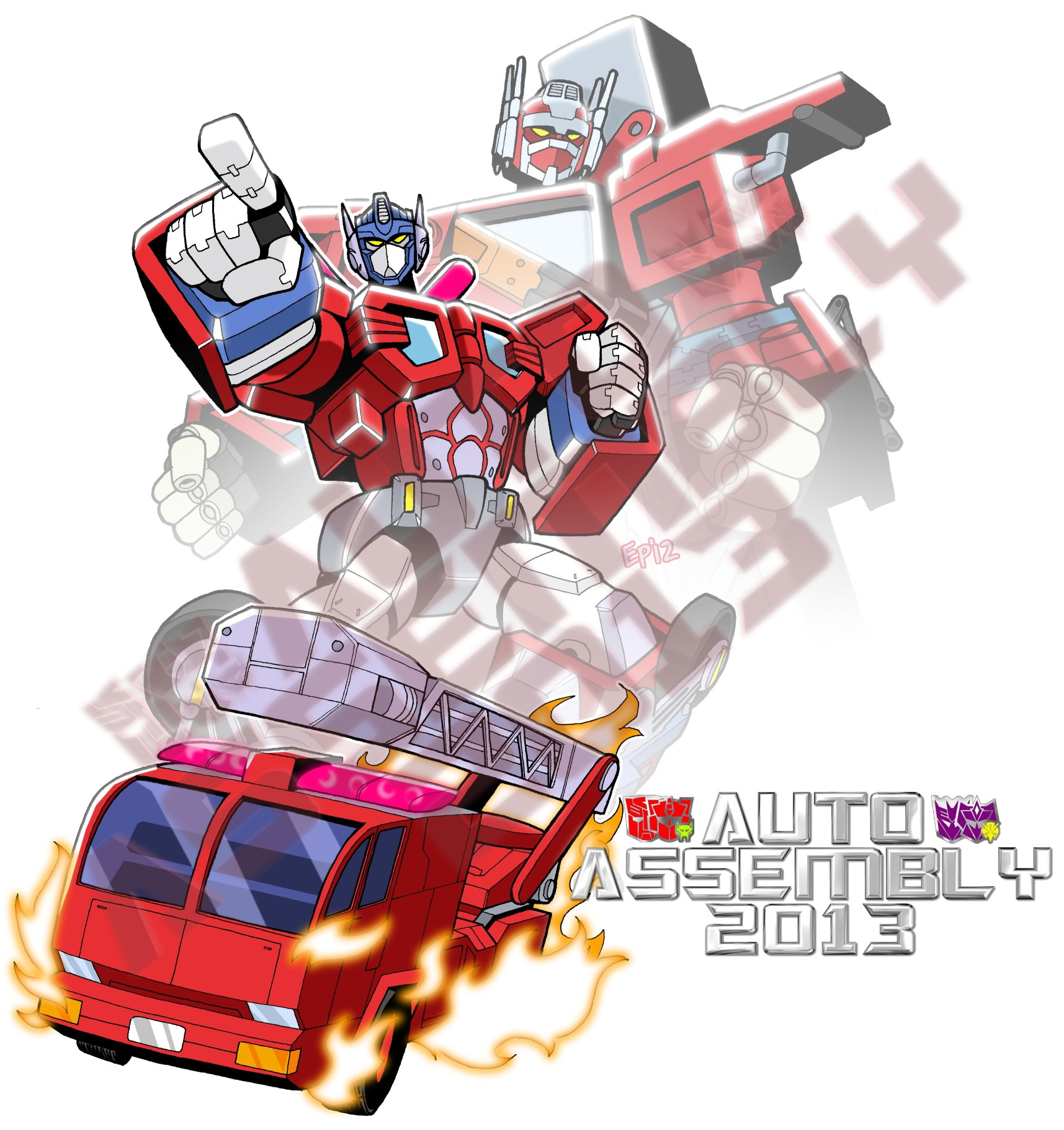 Auto Assembly 2013 Exclusive T-Shirt - Optimus Prime