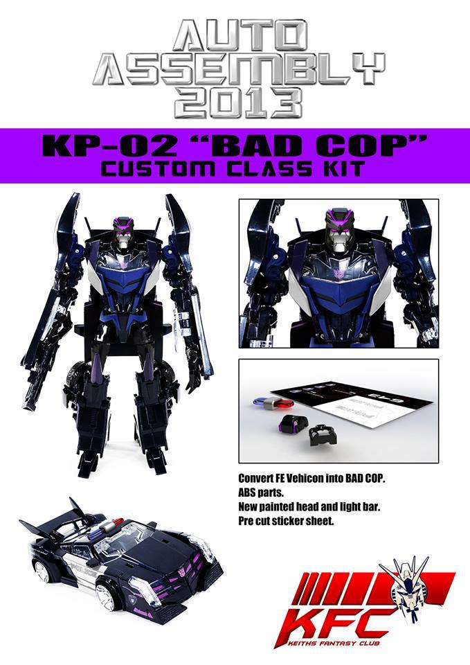 Auto Assembly 2013 Kitbash Add-On - Bad Cop
