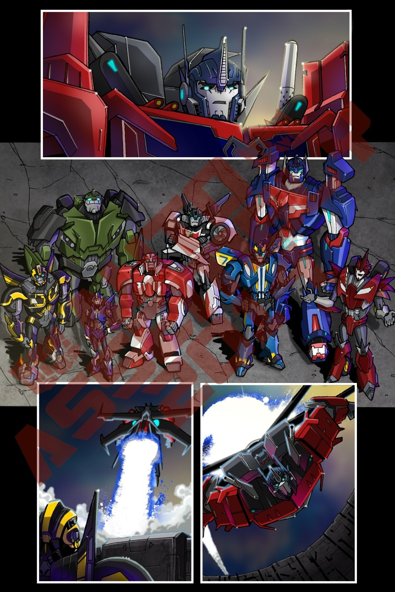 Auto Assembly 2014 Comic Preview