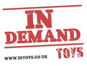 In Demand Toys Logo