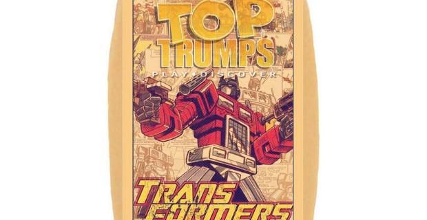 Transformers Top Trumps Header