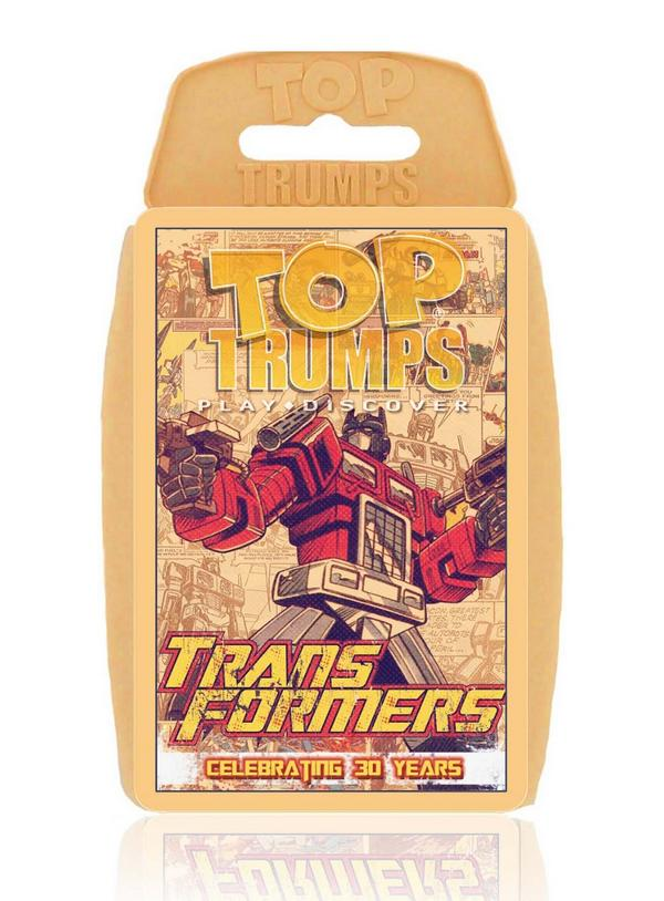 Transformers Top Trumps Pack