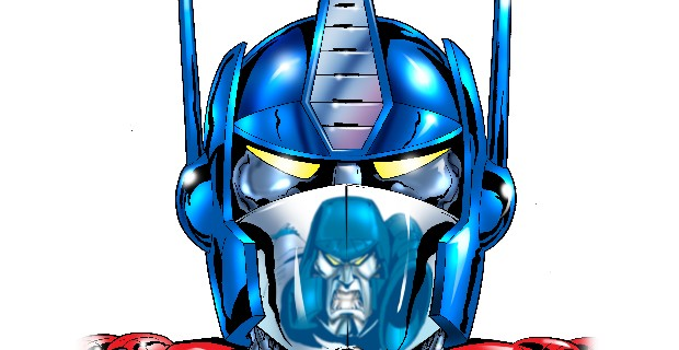 Optimus Prime Headshot