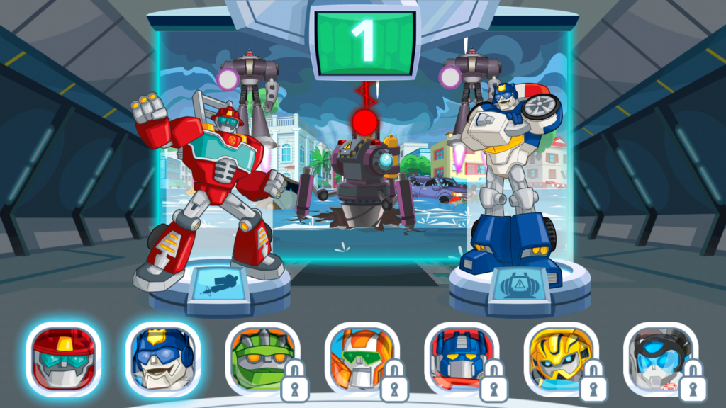 Rescue Bots: Disaster Dash