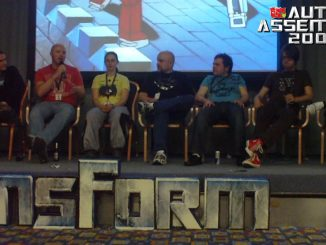 Auto Assembly 2009 UK Comic Panel