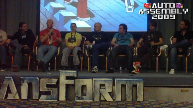 Auto Assembly 2009 UK Comic Panel