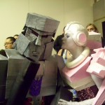 Auto Assembly 2010 - Megatron and Arcee cosplayers