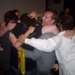 Auto Assembly 2011 - Guests Group Hug!