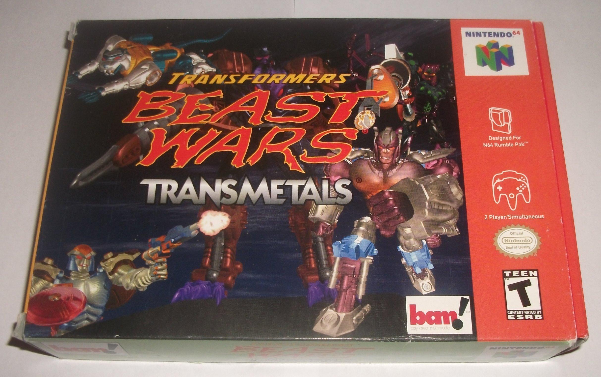 Beast Wars Transmetals - Nintendo 64
