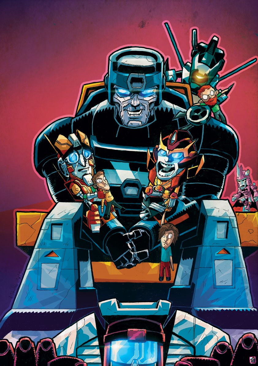Cybertronian Times 14 Cover
