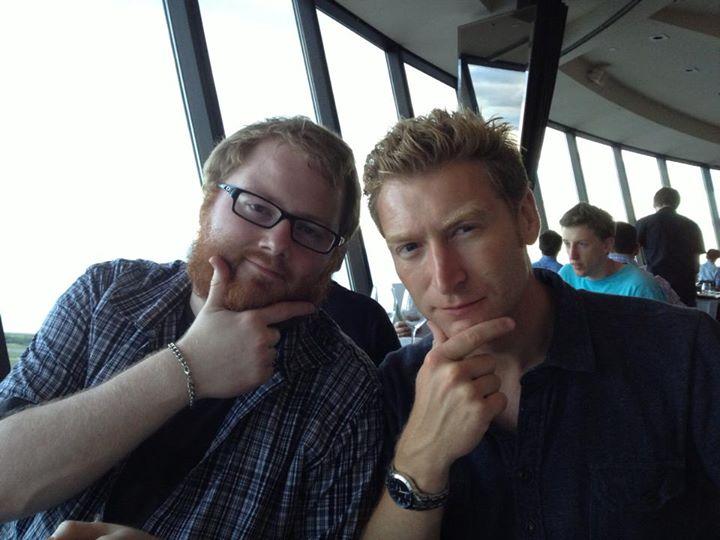 Alex Milne and James Roberts