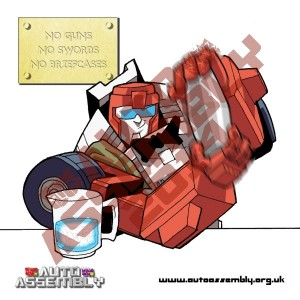 Auto Assembly 2014 Beermat Swerve's Birthday Front V2 Preview