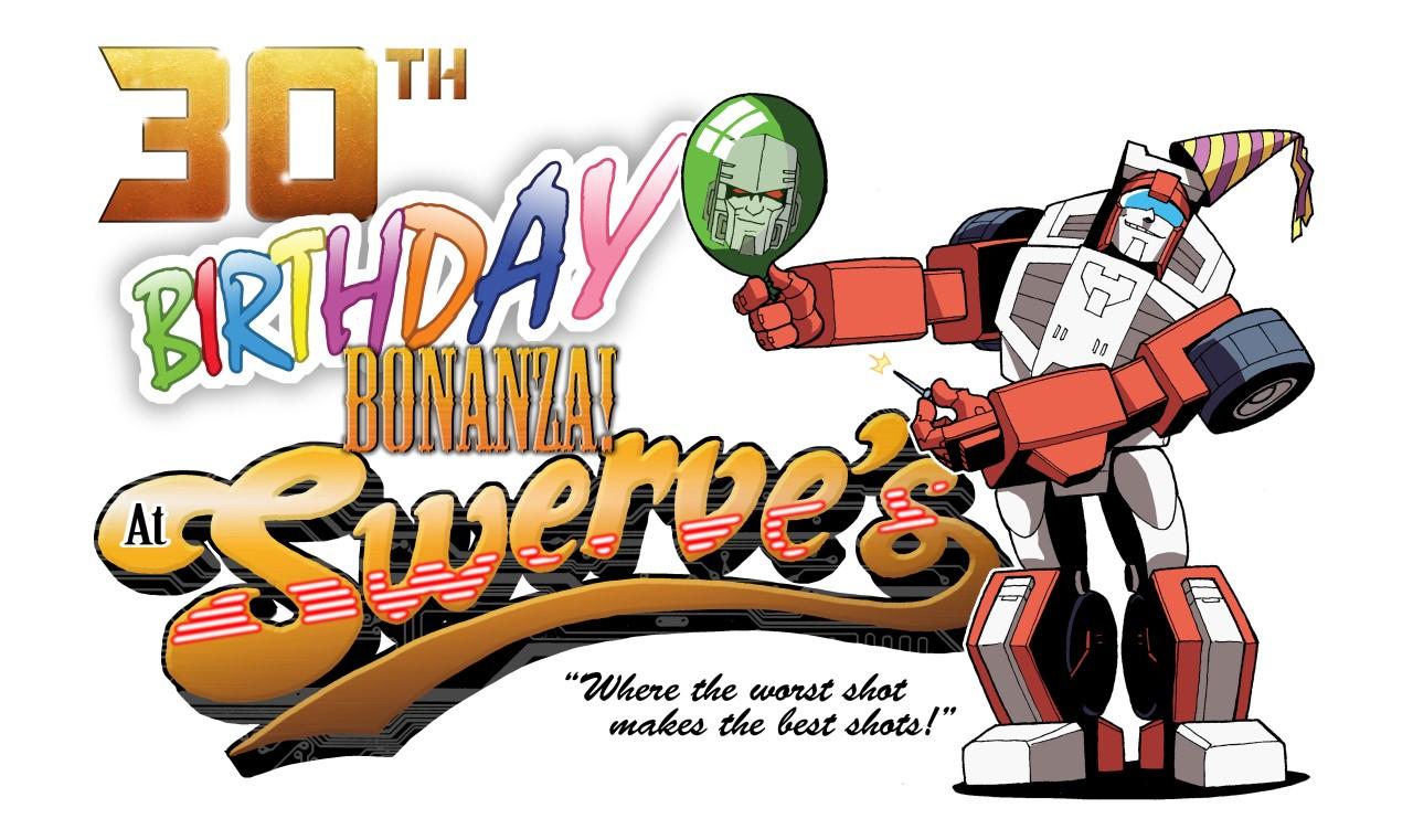 Swerves Birthday Bonanza