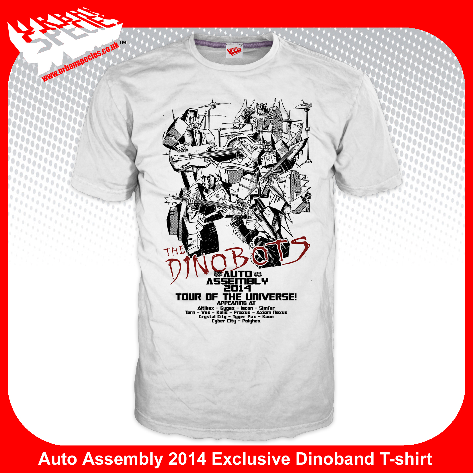 Auto Assembly 2014 Dinoband Exclusive T-Shirt