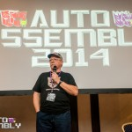 Auto Assembly 2014 - Michael McConnohie on stage