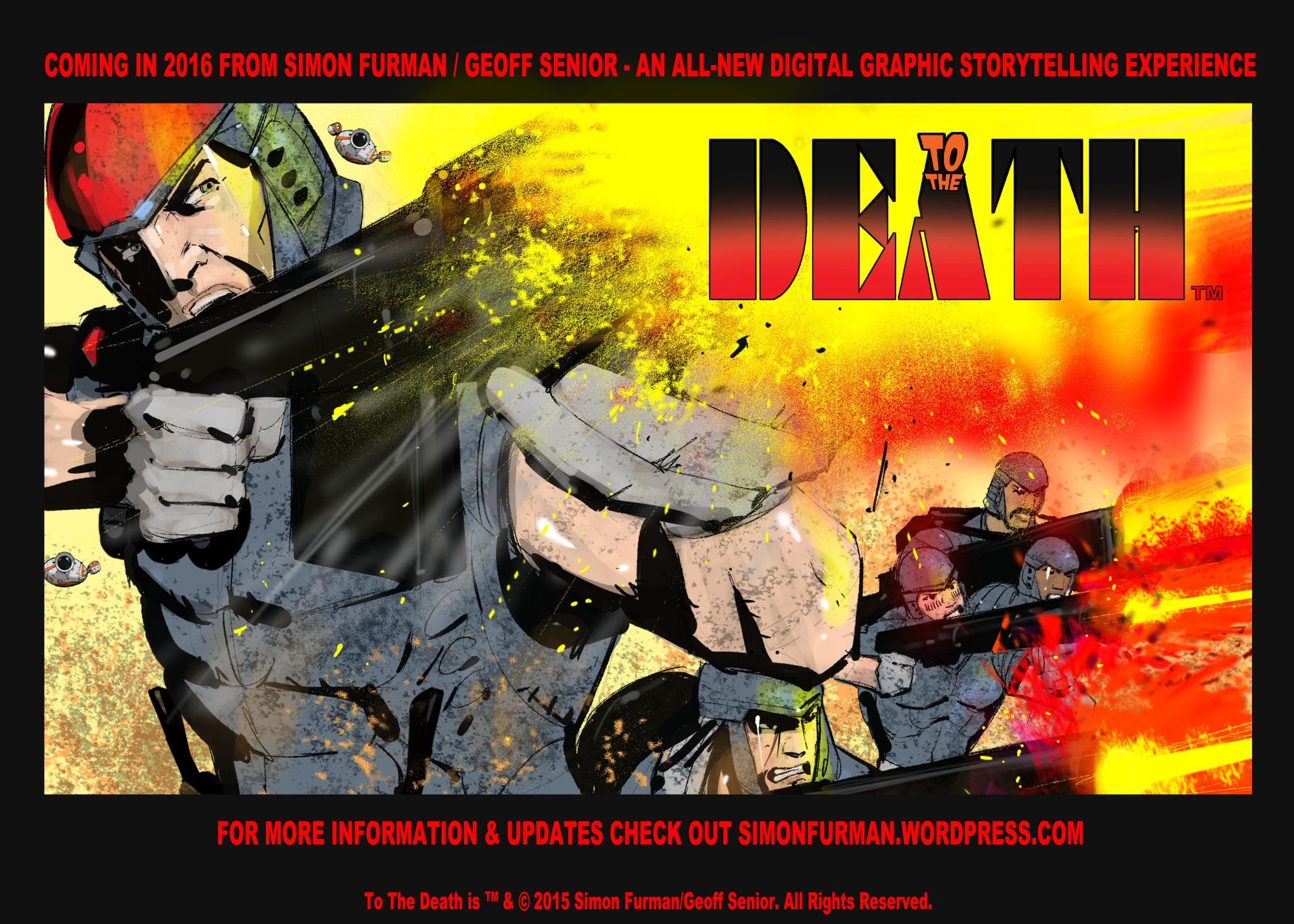 To The Death Poster