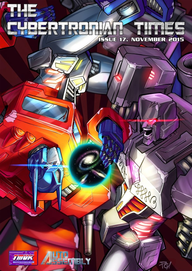 The Cybertronian Times Issue 17 Cover Preview